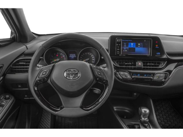 2018 Toyota C-HR Prices and Values Utility 4D XLE Premium 2WD I4 driver's dashboard