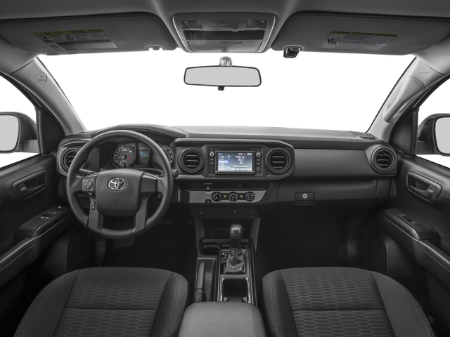 2018 Toyota Tacoma Prices and Values SR Extended Cab 4WD I4 full dashboard