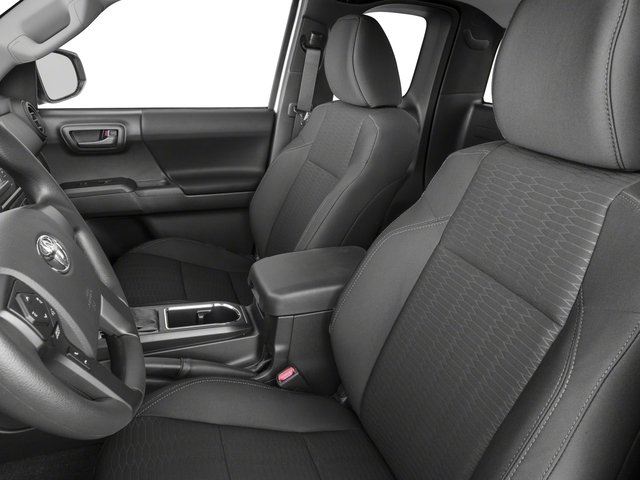 2018 Toyota Tacoma Prices and Values SR Extended Cab 4WD I4 front seat interior
