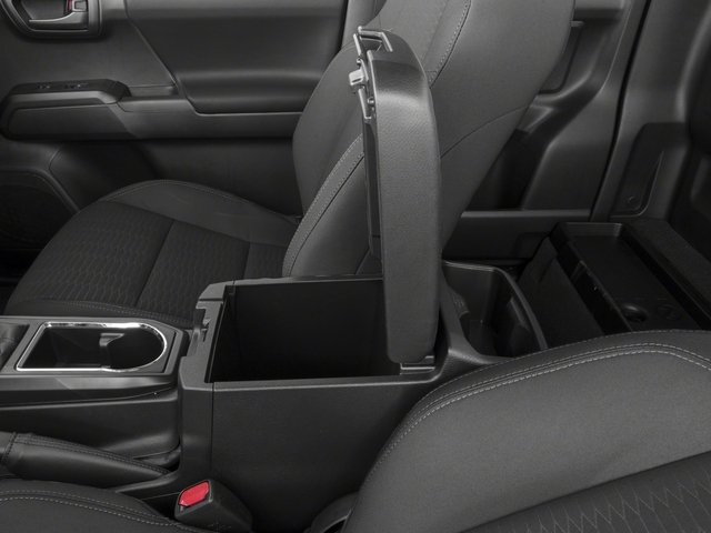 2018 Toyota Tacoma Prices and Values SR Extended Cab 4WD I4 center storage console