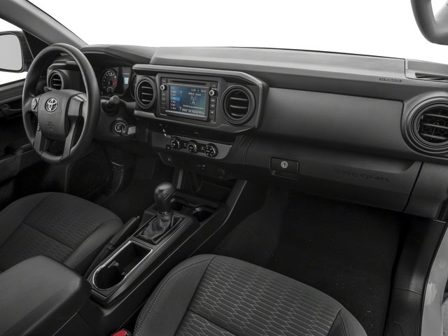 2018 Toyota Tacoma Prices and Values SR Extended Cab 4WD I4 passenger's dashboard