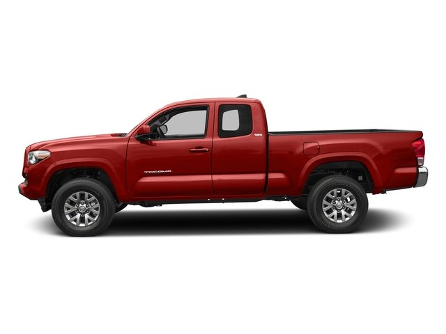 2018 Toyota Tacoma Pictures Tacoma SR5 Extended Cab 4WD I4 photos side view