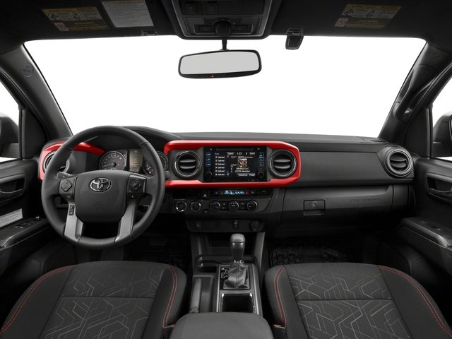 2018 Toyota Tacoma Pictures Tacoma TRD Off-Road Extended Cab 4WD V6 photos full dashboard