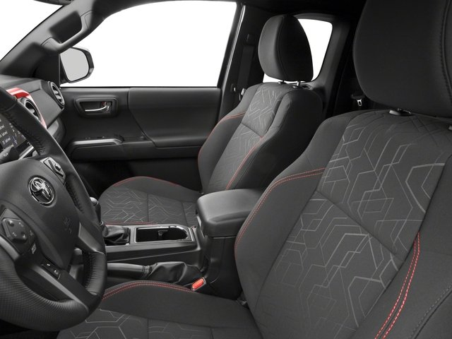 2018 Toyota Tacoma Pictures Tacoma TRD Off-Road Extended Cab 4WD V6 photos front seat interior