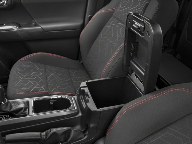 2018 Toyota Tacoma Pictures Tacoma TRD Off-Road Extended Cab 4WD V6 photos center storage console
