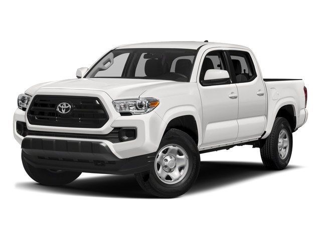 2018 Toyota Tacoma Base Price SR Double Cab 5' Bed I4 4x2 AT Pricing side front view
