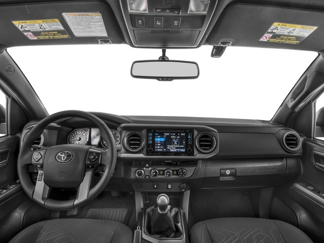 2018 Toyota Tacoma Prices and Values TRD Off-Road Crew Cab 2WD V6 full dashboard