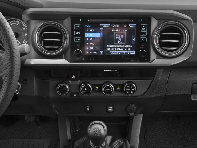 2018 Toyota Tacoma Prices and Values TRD Off-Road Crew Cab 2WD V6 stereo system