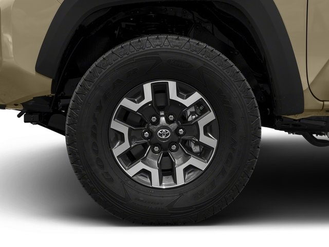 2018 Toyota Tacoma Prices and Values TRD Off-Road Crew Cab 2WD V6 wheel