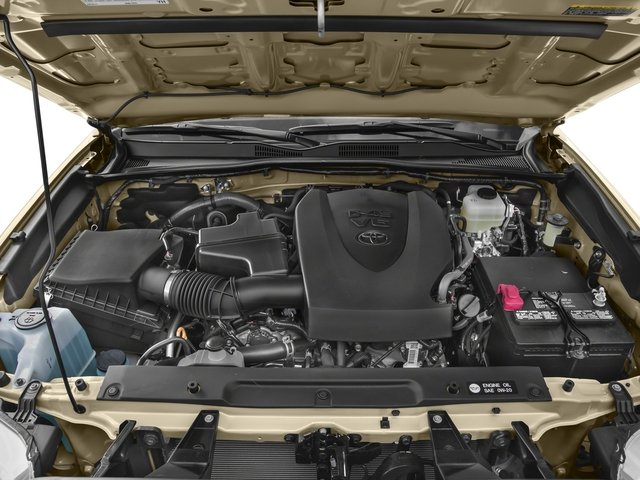 2018 Toyota Tacoma Prices and Values TRD Off-Road Crew Cab 2WD V6 engine