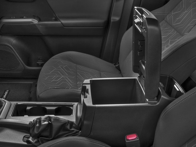 2018 Toyota Tacoma Prices and Values TRD Off-Road Crew Cab 2WD V6 center storage console
