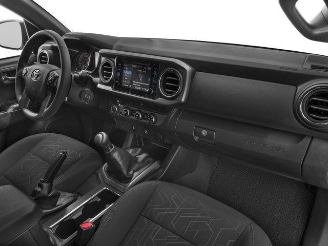 2018 Toyota Tacoma Prices and Values TRD Off-Road Crew Cab 2WD V6 passenger's dashboard