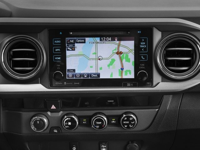 2018 Toyota Tacoma Prices and Values TRD Off-Road Crew Cab 2WD V6 navigation system
