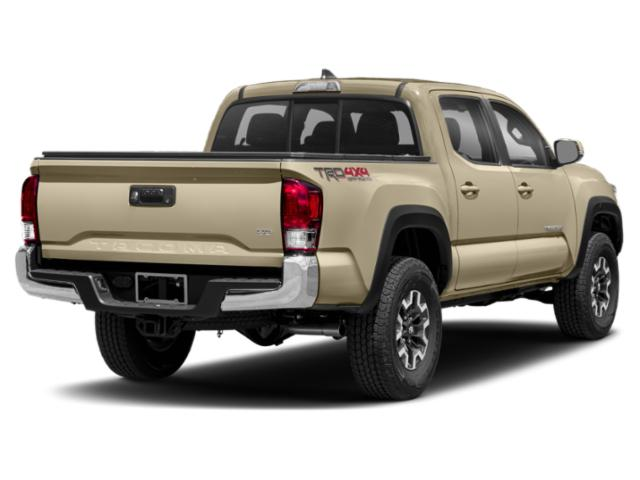 2018 Toyota Tacoma Prices and Values TRD Off-Road Crew Cab 2WD V6 side rear view