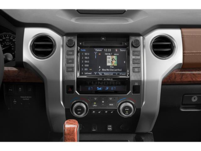 2018 Toyota Tundra 2WD Prices and Values SR Double Cab 2WD stereo system