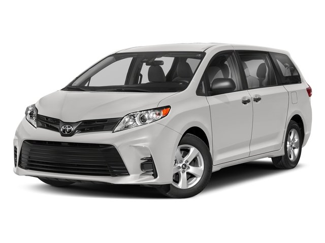 2018 Toyota Sienna Base Price L FWD 7-Passenger Pricing side front view