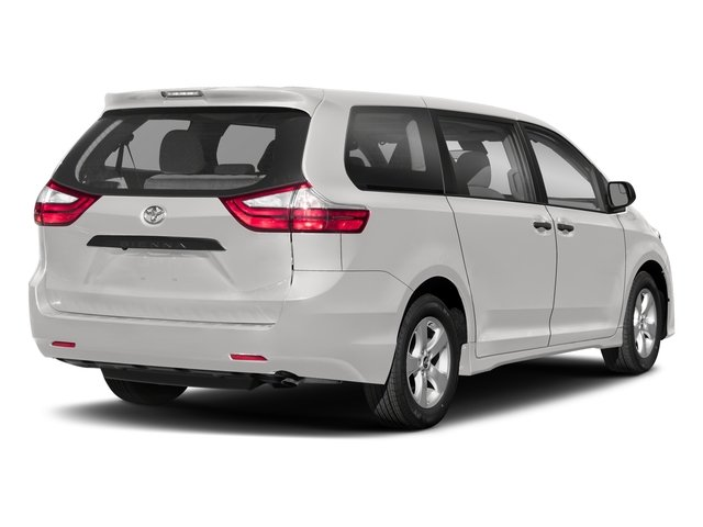 2018 Toyota Sienna Base Price L FWD 7-Passenger Pricing side rear view