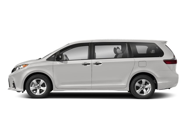 2018 Toyota Sienna Base Price L FWD 7-Passenger Pricing side view