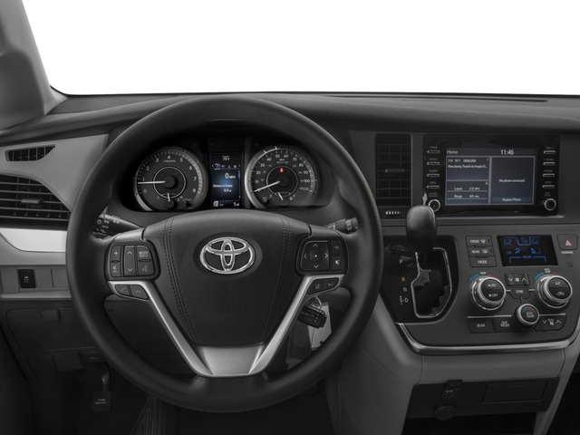2018 Toyota Sienna Base Price L FWD 7-Passenger Pricing driver's dashboard