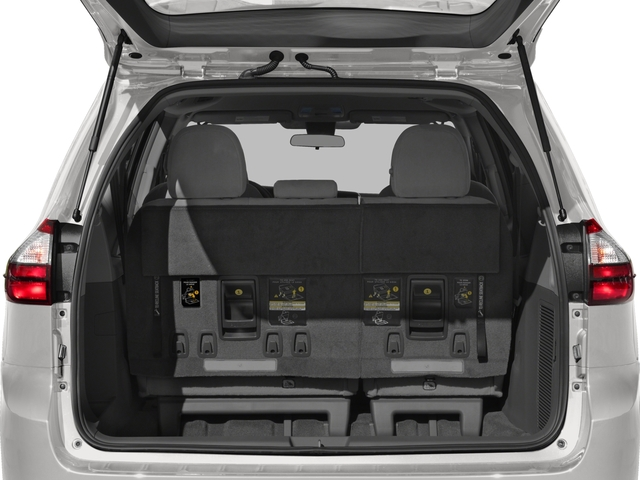 2018 Toyota Sienna Base Price L FWD 7-Passenger Pricing open trunk