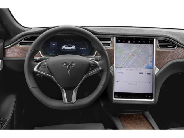 2018 Tesla Motors Model S Pictures Model S Sedan 4D D 100 kWh AWD photos driver's dashboard