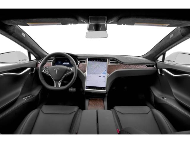 2018 Tesla Motors Model S Pictures Model S Sed 4D D Performance 100 kWh AWD photos full dashboard