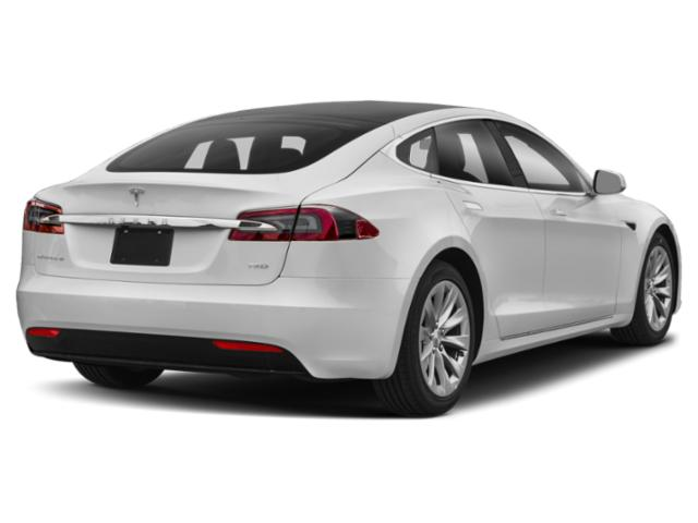 2018 Tesla Motors Model S Pictures Model S Sedan 4D D 100 kWh AWD photos side rear view