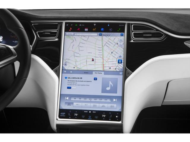 2018 Tesla Motors Model X Pictures Model X Utility 4D D Performance 100 kWh AWD photos navigation system