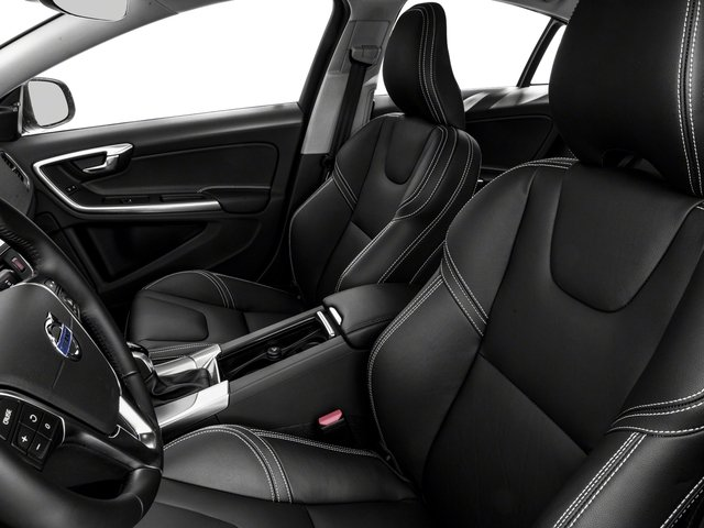 2018 Volvo S60 Prices and Values Sedan 4D Dynamic T5 AWD front seat interior