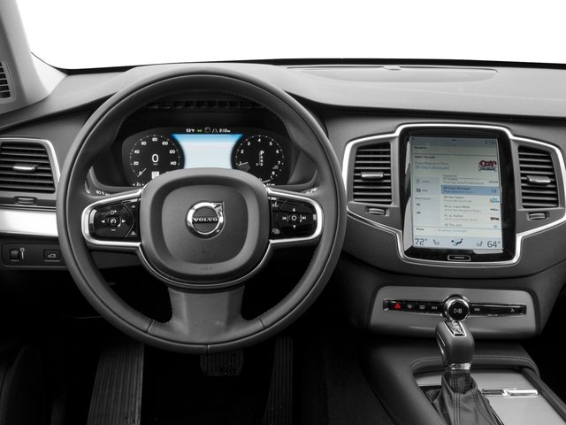 2018 Volvo XC90 Prices and Values Util 4D T5 Momentum AWD I4 Turbo driver's dashboard