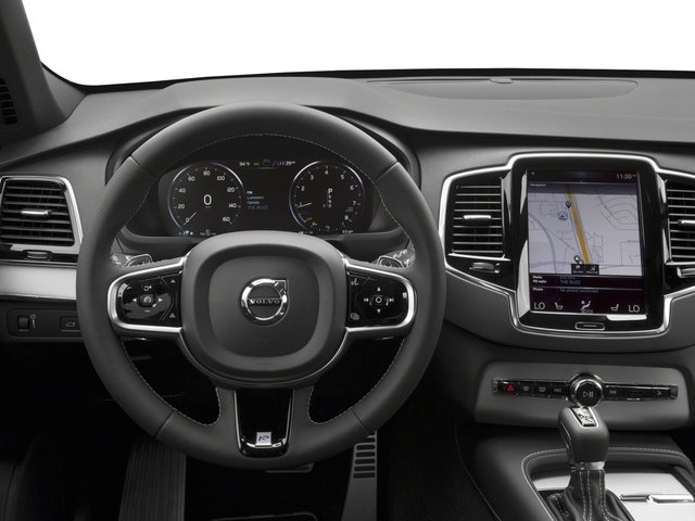 2018 Volvo XC90 Prices and Values Utility 4D T5 R-Design 2WD I4 Turbo driver's dashboard
