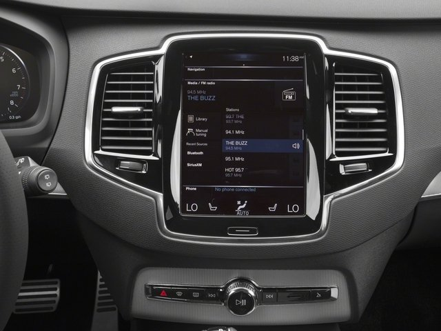 2018 Volvo XC90 Prices and Values Utility 4D T6 R-Design AWD I4 Turbo stereo system