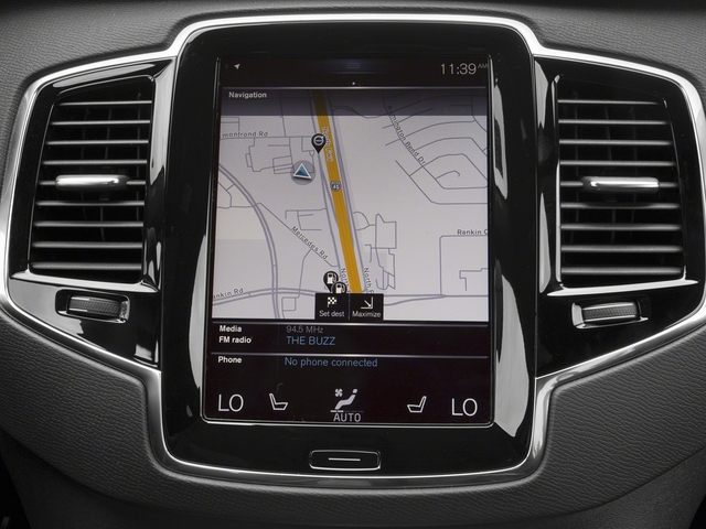 2018 Volvo XC90 Prices and Values Utility 4D T5 R-Design 2WD I4 Turbo navigation system