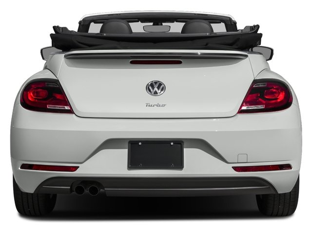 2018 Volkswagen Beetle Convertible Base Price S Auto Pricing rear view