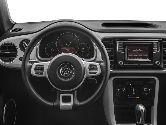 2018 Volkswagen Beetle Convertible Base Price S Auto Pricing driver's dashboard