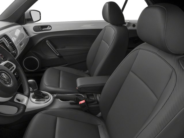 2018 Volkswagen Beetle Convertible Base Price S Auto Pricing front seat interior