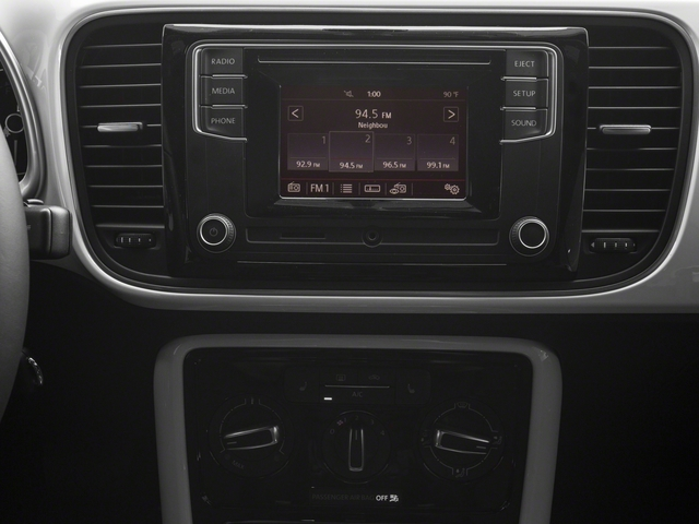 2018 Volkswagen Beetle Convertible Base Price S Auto Pricing stereo system