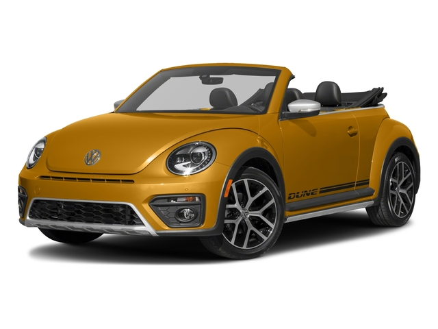 2018 Volkswagen Beetle Convertible Base Price Dune Auto Pricing side front view