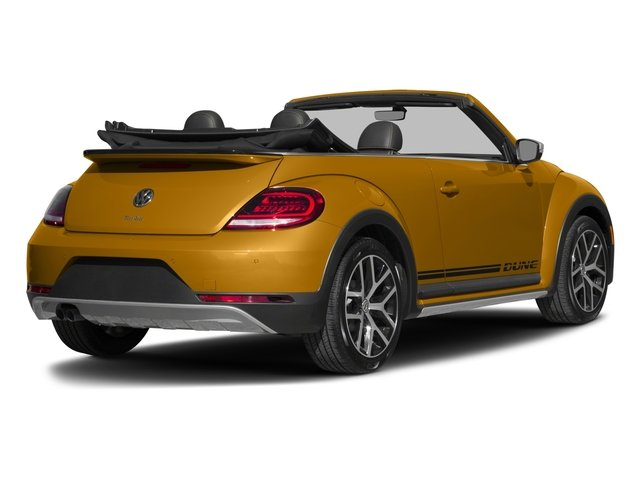 2018 Volkswagen Beetle Convertible Base Price Dune Auto Pricing side rear view