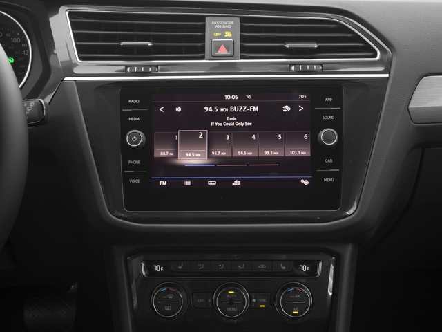 2018 Volkswagen Tiguan Base Price 2.0T SEL 4MOTION Pricing stereo system