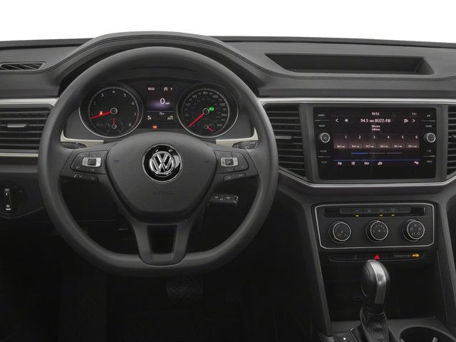 2018 Volkswagen Atlas Base Price 3.6L V6 S 4MOTION Pricing driver's dashboard