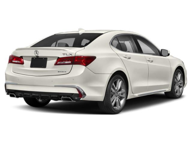 2019 Acura TLX Base Price 3.5L SH-AWD Pricing side rear view
