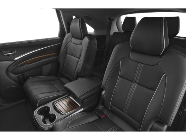 2019 Acura MDX Base Price FWD w/Advance/Entertainment Pkg Pricing backseat interior