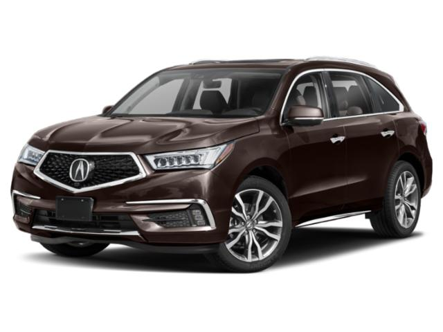 2019 Acura MDX Base Price FWD w/Advance/Entertainment Pkg Pricing