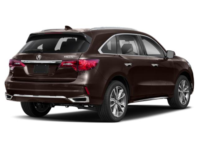 2019 Acura MDX Base Price FWD w/Advance/Entertainment Pkg Pricing side rear view