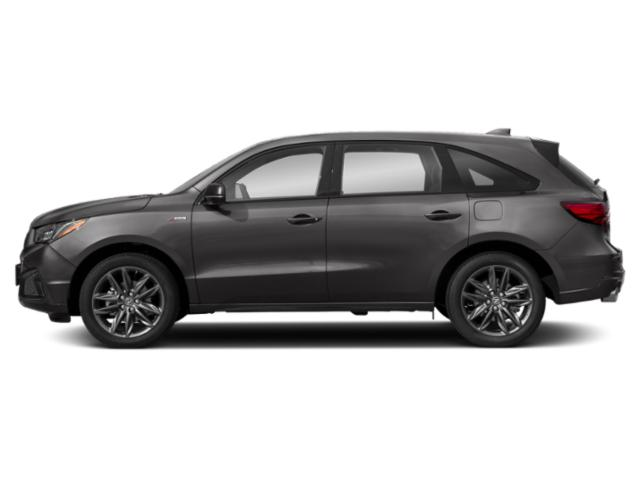 2019 Acura MDX Base Price FWD w/Advance/Entertainment Pkg Pricing side view
