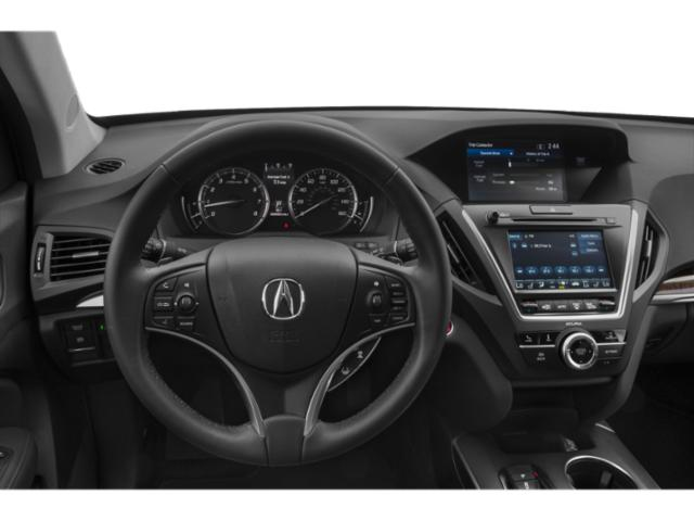 2019 Acura MDX Base Price FWD w/Technology/Entertainment Pkg Pricing driver's dashboard
