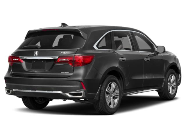 2019 Acura MDX Pictures MDX FWD w/Advance/Entertainment Pkg photos side rear view