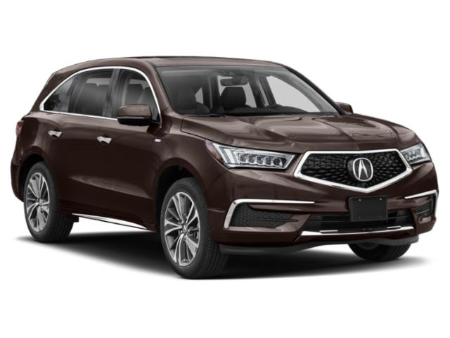 2019 Acura MDX Base Price SH-AWD Sport Hybrid w/Advance Pkg Pricing side front view