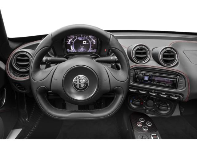 2019 Alfa Romeo 4C Spider Base Price Spider Pricing driver's dashboard